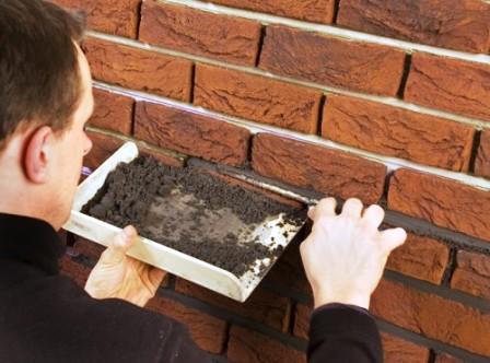 Comment restaurer un ouvrage en ma onnerie de briques for Construire mur en brique