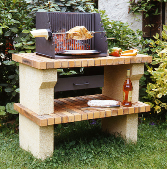 Comment r aliser un barbecue le guide de la ma onnerie for Cheminee barbecue exterieur en brique